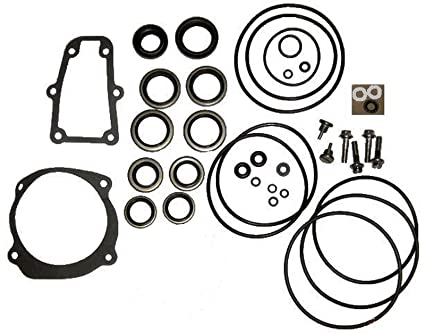 Amazon Com Complete Lower Unit Seal Kit For Johnson Evinrude V4 V6