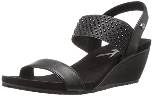 21563e3230 Image Unavailable. Image not available for. Color: AK Anne Klein Sport  Women's Castie Synthetic Wedge Sandal