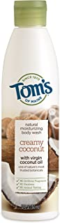 product image for Tom's of Maine Natural Moisturizing Body Wash Soap With Virgin Oil, Coconut, 12 Ounce