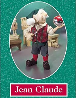 """product image for Zims 11.5"""" The Elves Themselves Jean Claude Collectible Christmas Elf Figure"""