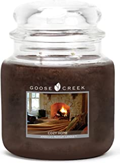 product image for Goose Creek Candles Cozy Home Scented Essential Jar Candle, Top Quality Great Fragrance, 16 oz