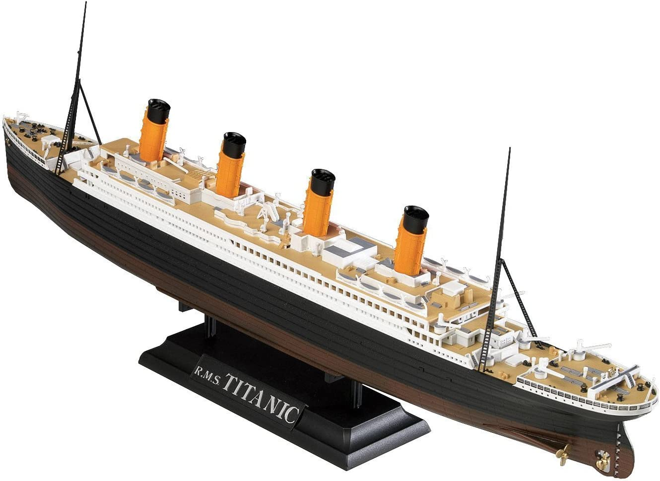 Amazon Com Doyusha R M S Titanic Led With Led Color Plastic Model