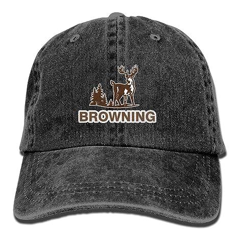 Zcfhike Browning Armas de Fuego Ciervos Adulto Deporte Gorra de ...