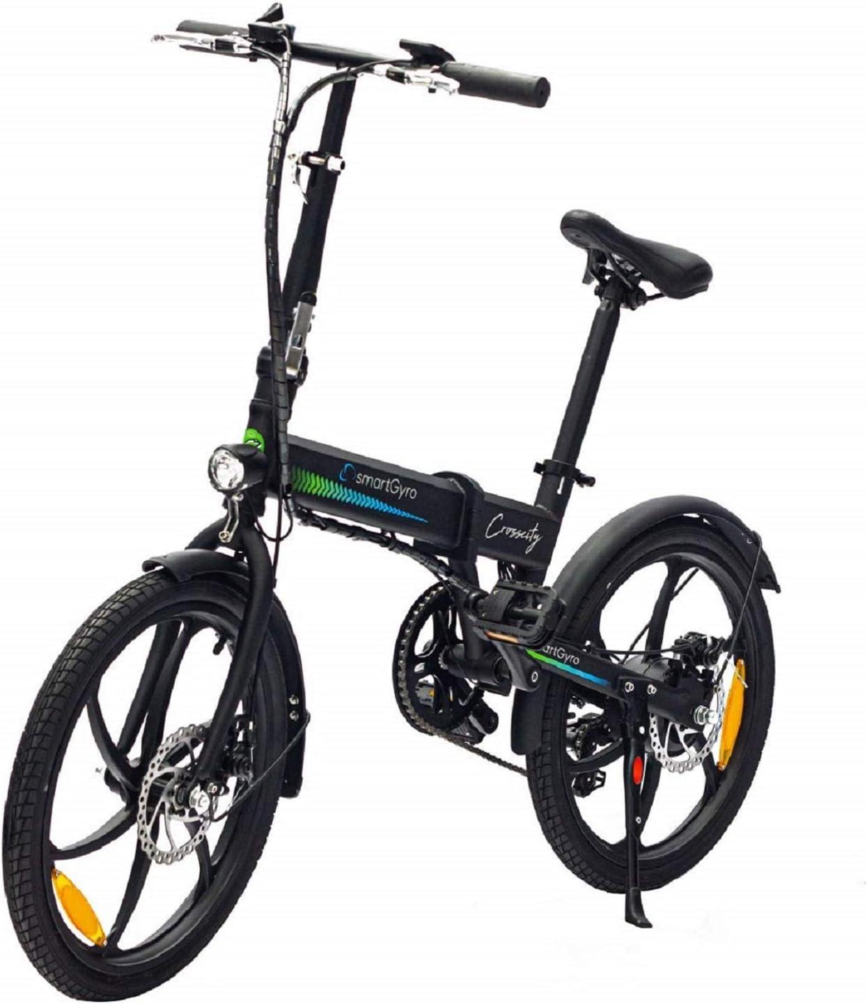 SMARTGYRO Ebike Crosscity Black - Bicicleta Eléctrica Urbana ...