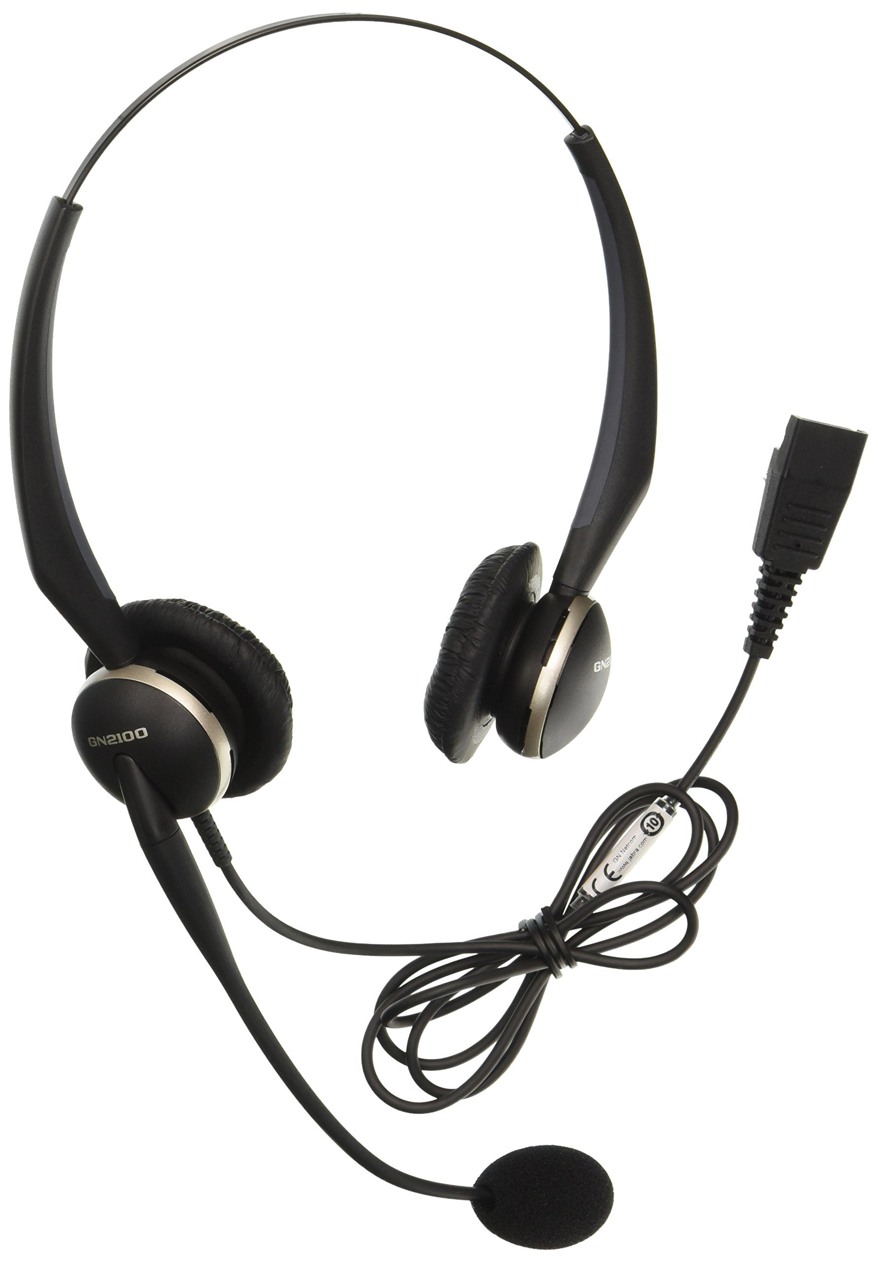 Jabra 2127-80-54 GN2125 NCTC Telecoil Headset for Deskphone