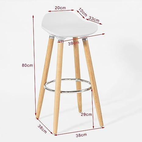 SoBuy® Mordernes Design, Barhocker, Barstuhl, Hocker, Tresenhocker ...