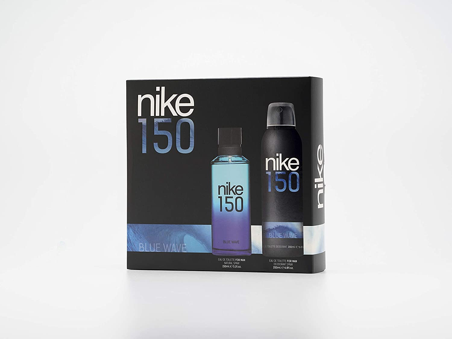 Nike - Blue Wave Estuche de Regalo para Hombre, Eau de Toilette 150 ml y Desodorante en Spray 200 ml: Amazon.es: Belleza