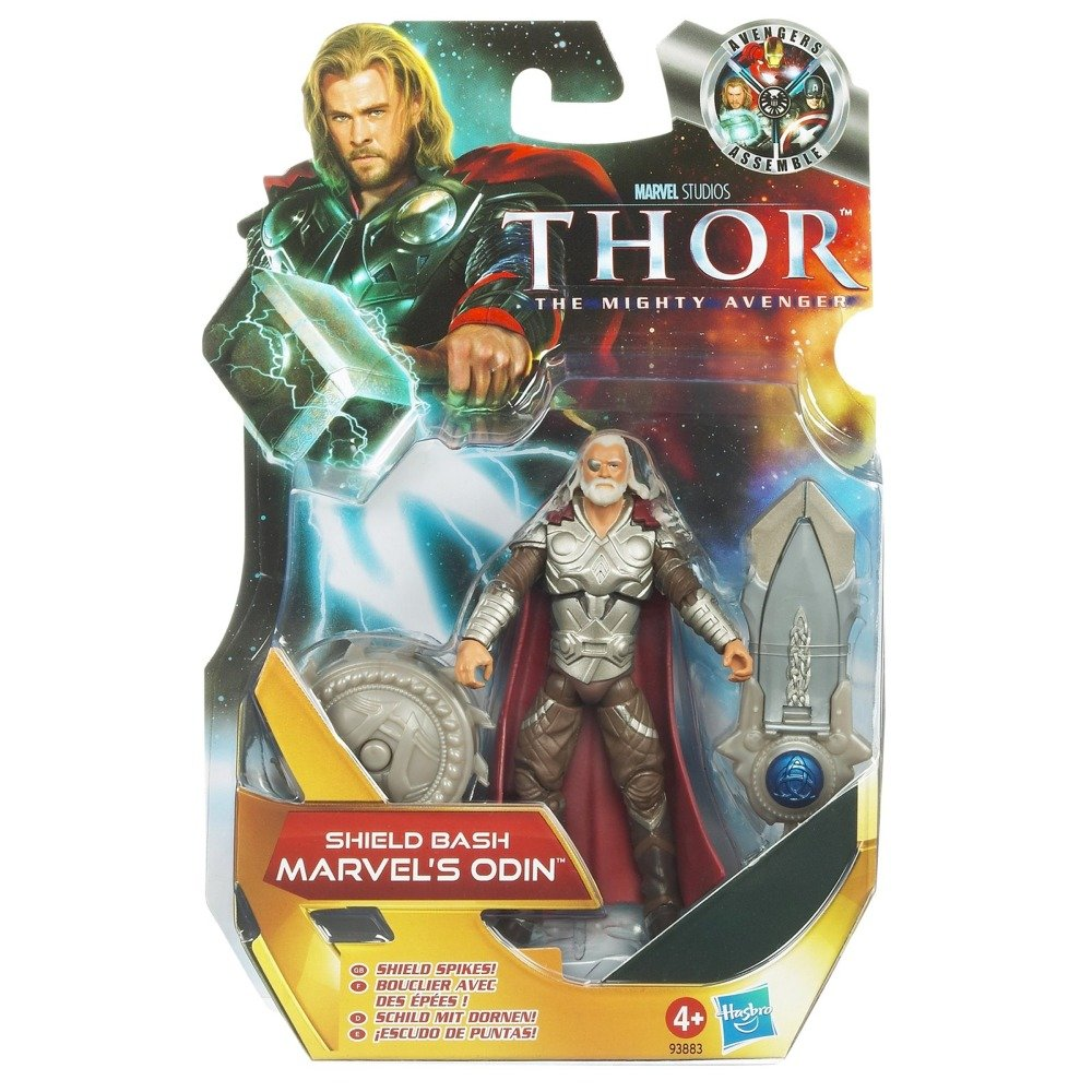 Thor: The Mighty Avenger Action Figure #05 Shield Bash Marvel's Odin 3.75 Inch