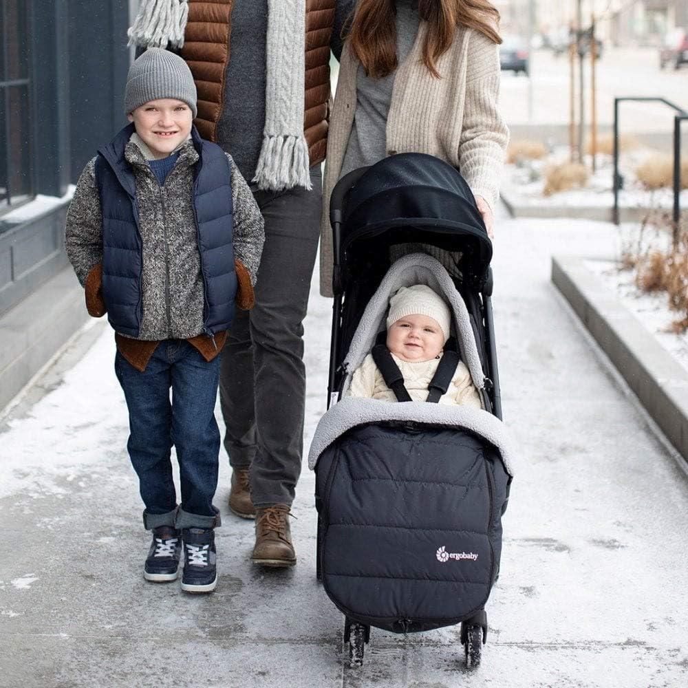 Saco de invierno para cochecito Ergobaby Metro Negro