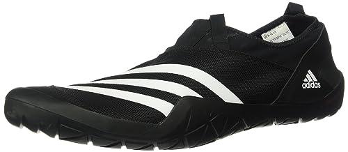 separation shoes 44471 775d0 adidas outdoor Climacool Jawpaw Slip ON Walking Shoe, BlackWhiteSilver  MET,