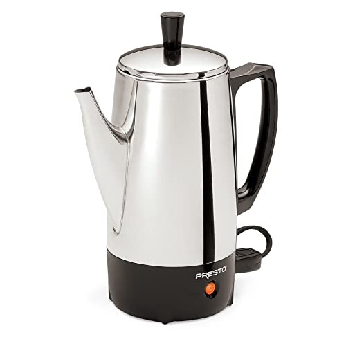Presto 02822 Stainless-Steel Coffee Percolator