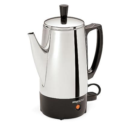 Amazon Presto 02822 6 Cup Stainless Steel Coffee Percolator