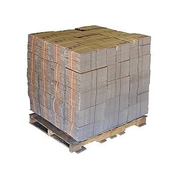 PRATT reciclado único pared estándar de largo de cartón corrugado caja con C flauta