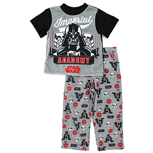 Disney Star Wars Boys Black Poly Pajamas (4)