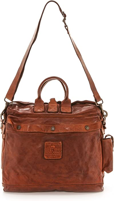 871ccd082f21 Campomaggi Women s Washed Leather Messenger Bag
