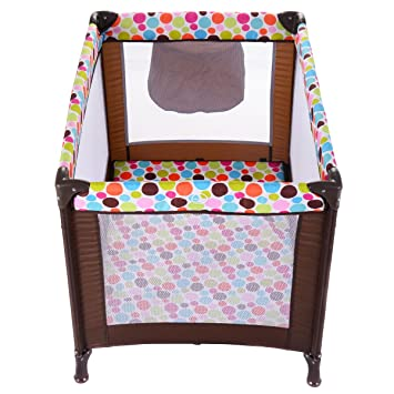 Pack N Play Playard Baby Bassinet Travel Portable Bed Playpen Toddler Foldable