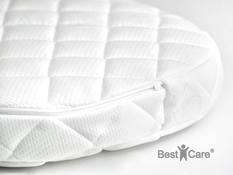 BestCare® - Colchón Aero para carrito con doble cara (verano-invierno), con tratamiento Aloe Vera, para niños, cuna, dormir de forma placentera durante todo ...