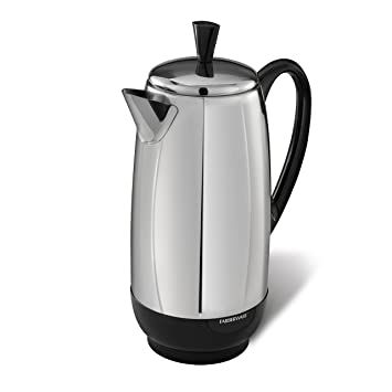 Amazon Farberware 12 Cup Percolator Stainless Steel Fcp412