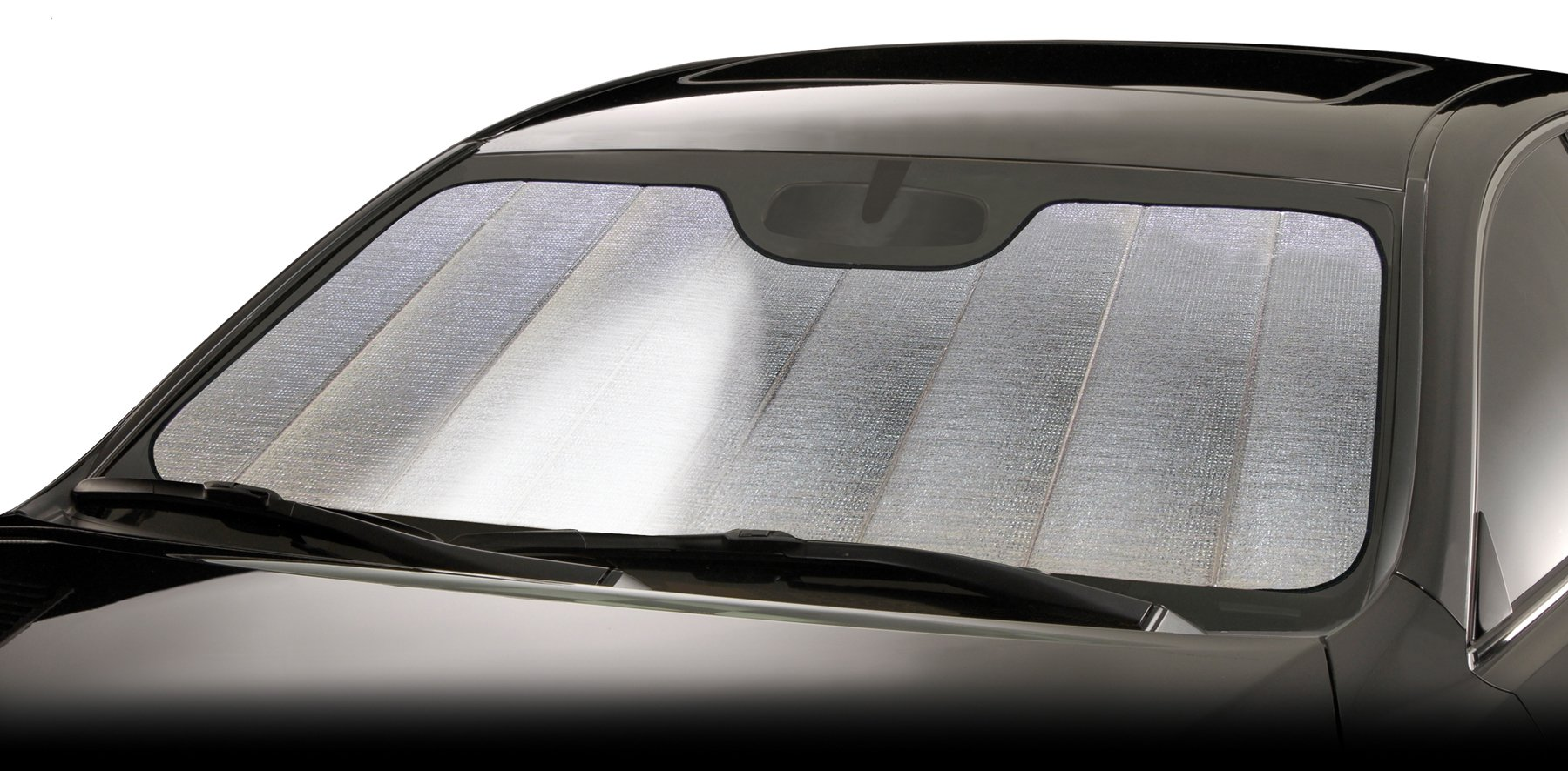Intro-Tech SU-40A-R Silver Ultimate Reflector Custom Fit Folding Windshield Sunshade for Select Subaru Outback Models, w/Sensor by Intro-Tech Automotive (Image #7)
