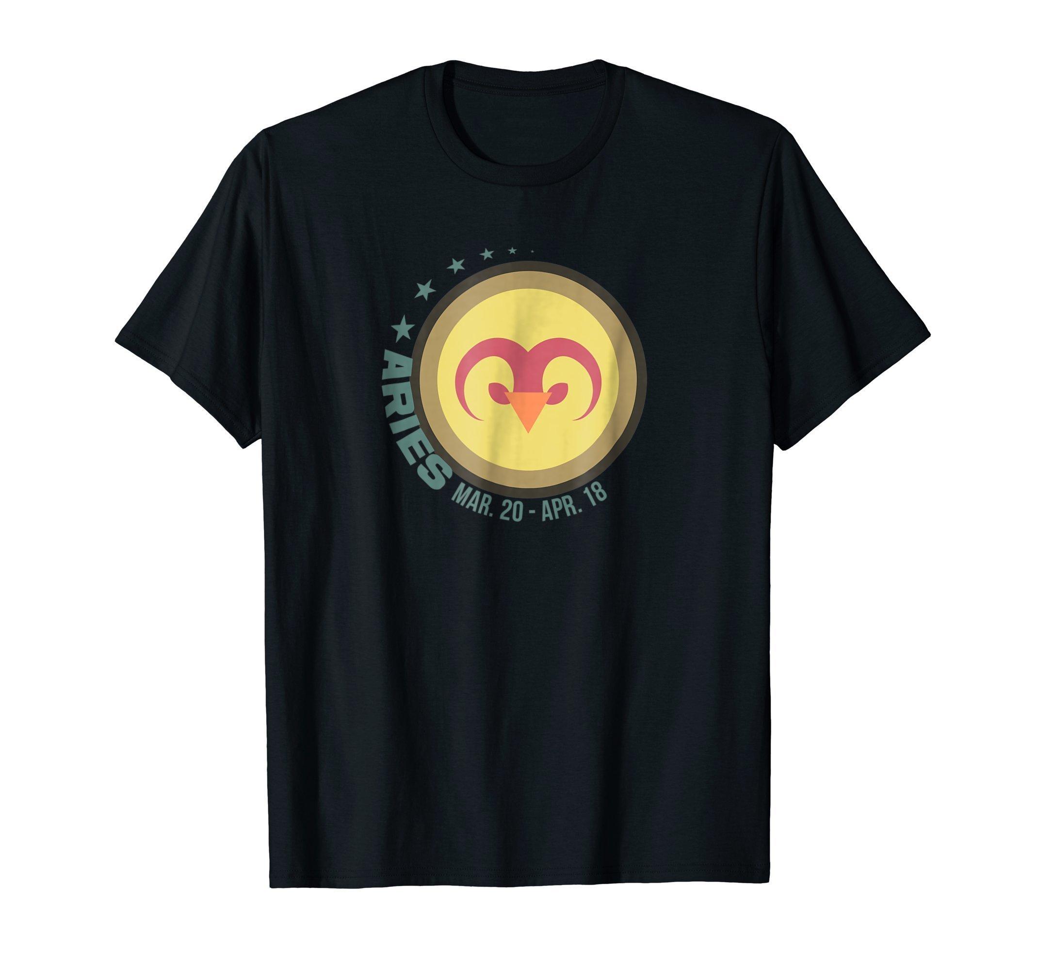 Aries Zodiac Sign T Shirt