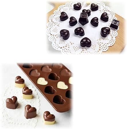 Marienk/äfer f/ür S/ü/ßigkeiten homEdge Silikonform f/ür Schokolade Schmetterling Waldk/äfer und Tiere Gelee L/öwe mit Nilpferd Biene 4 St/ück
