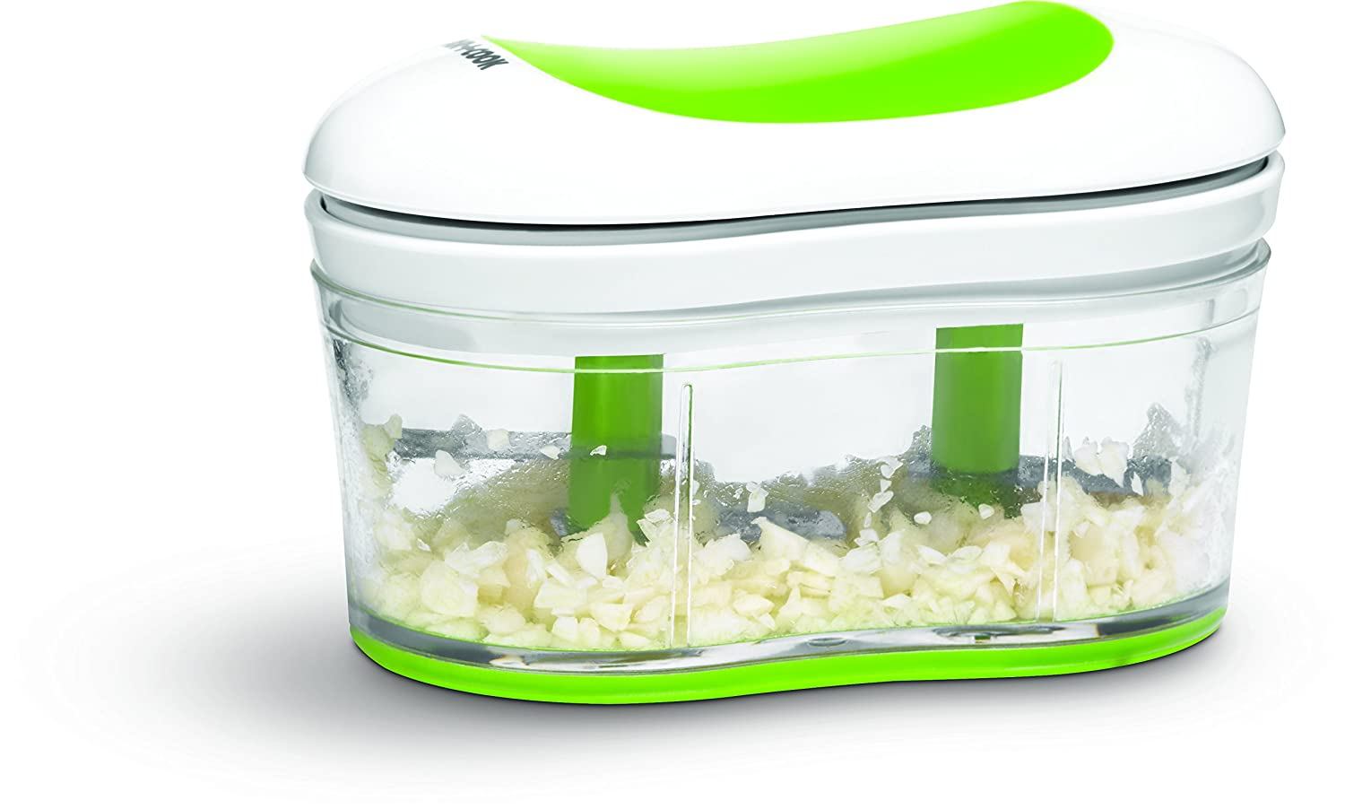 Amazon.com: Art and Cook Hand Held Garlic and Herb Chopper, Green ...