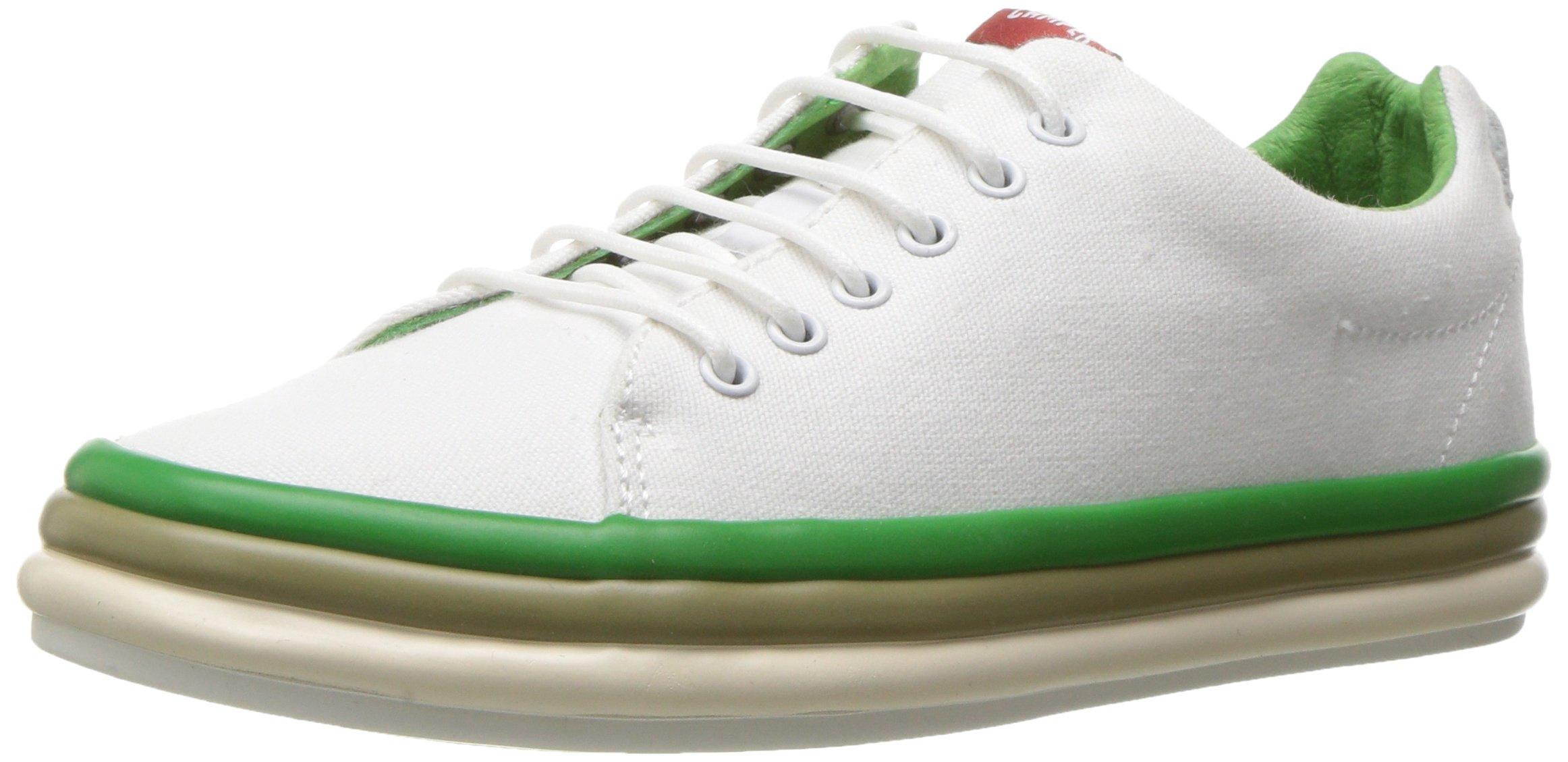 Camper Women's Hoops K200403 Fashion Sneaker, White, 39 EU/9 M US