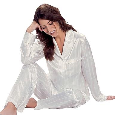 info for 117ab 18ee1 Taubert Berlin Satin Pyjama Damen Schlafanzug: Amazon.de ...