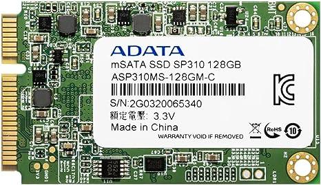 ADATA SP310 Unidad de Estado sólido 128 GB SATA MLC mSATA - Disco ...