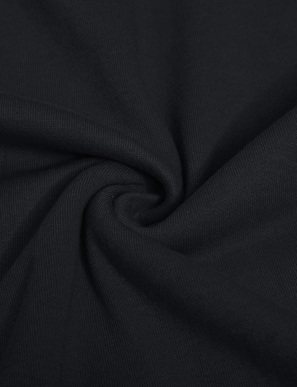 XS~4XL GIVON Womens Comfortable Long Sleeve Lightweight Zip-up Hoodie with Kanga Pocket