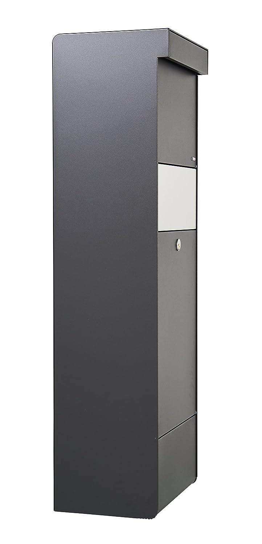 Anthracite Allux Grundform F47395 Grande Bo/îte /à Colis et Lettres 1100 x 345 x 280 mm