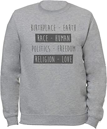 Birthplace - Earth, Race - Human, Religion