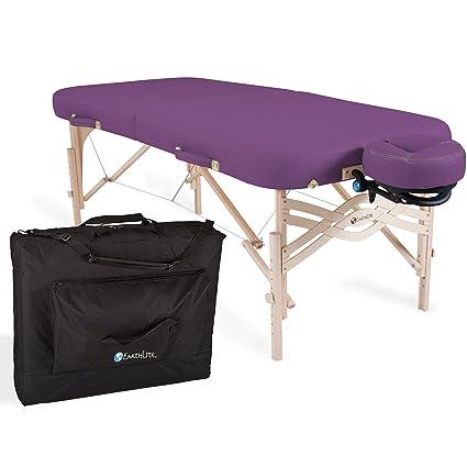 Amazon.com : Earthlite Spirit Premium Portable Massage Table Package ...