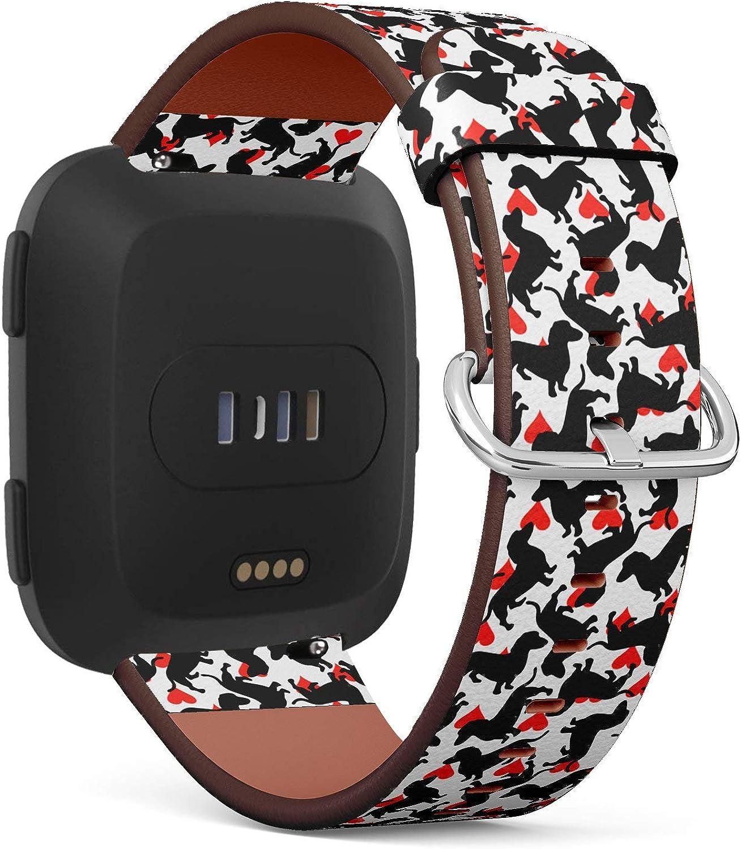 Heart Doodles Leather Belt