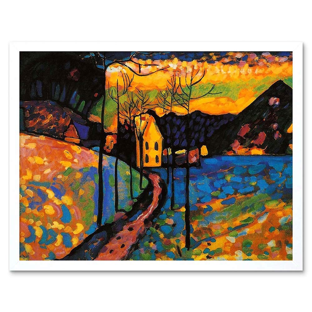 Wee Blue Coo Wassily Kandinsky Winter Landscape Old Master ...