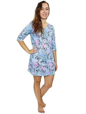 Amazon.com: Disney Lilo & Stitch Pajamas para mujer de manga ...