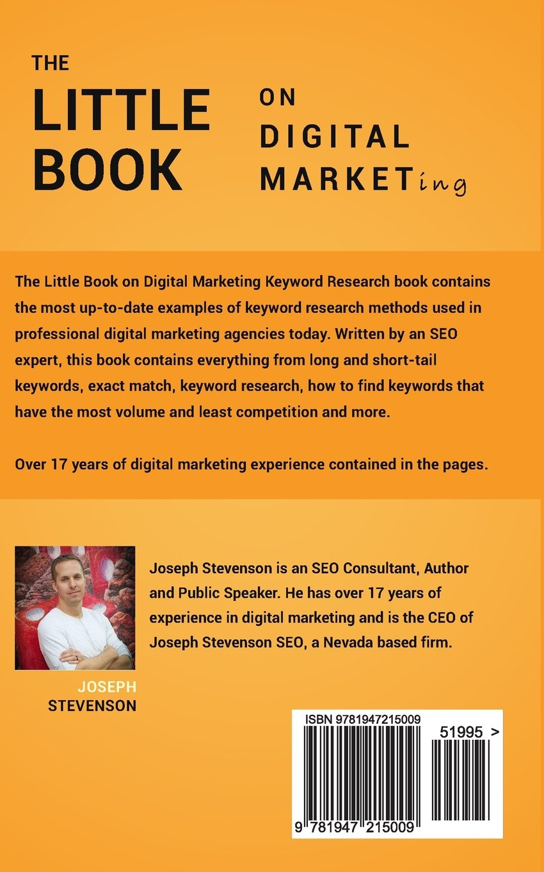 The Little Book on Digital Marketing Keyword Research: Amazon.es: Joseph Stevenson: Libros en idiomas extranjeros