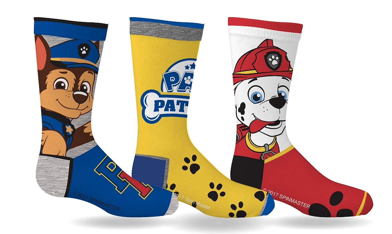 Paw Patrol Boys Sport Socks 3 Pairs Size 6-8 Gertex