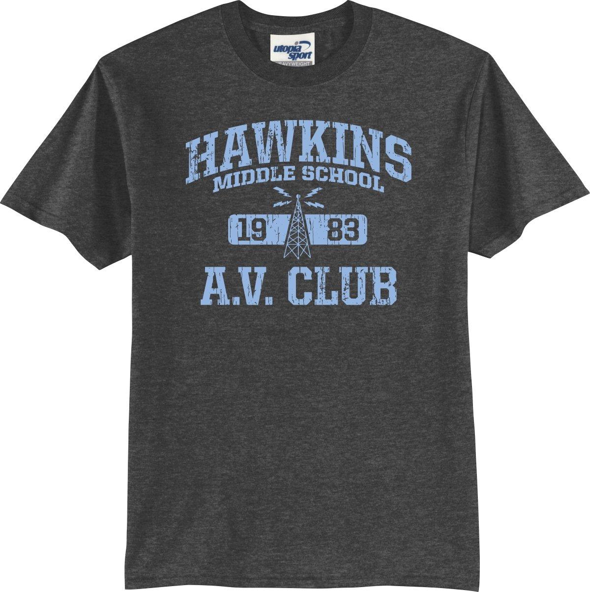 Hawkins A V Club Tshirt S5x