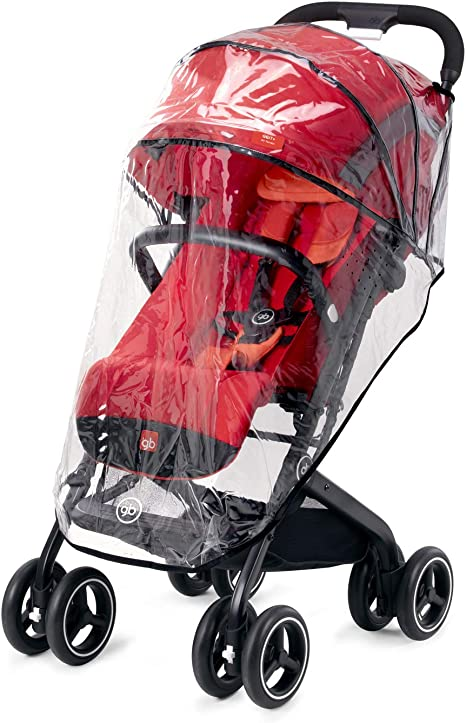 Opinión sobre gb Gold - Plástico para lluvia, para la silla de paseo Qbit+ All-Terrain, transparente