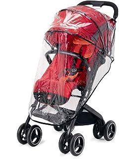 gb Gold - Silla de paseo Qbit+, viaje de lujo, Travel System 3 en 1, desde el nacimiento hasta los 17 kg (4 años aprox.), Cherry Red: Amazon.es: Bebé