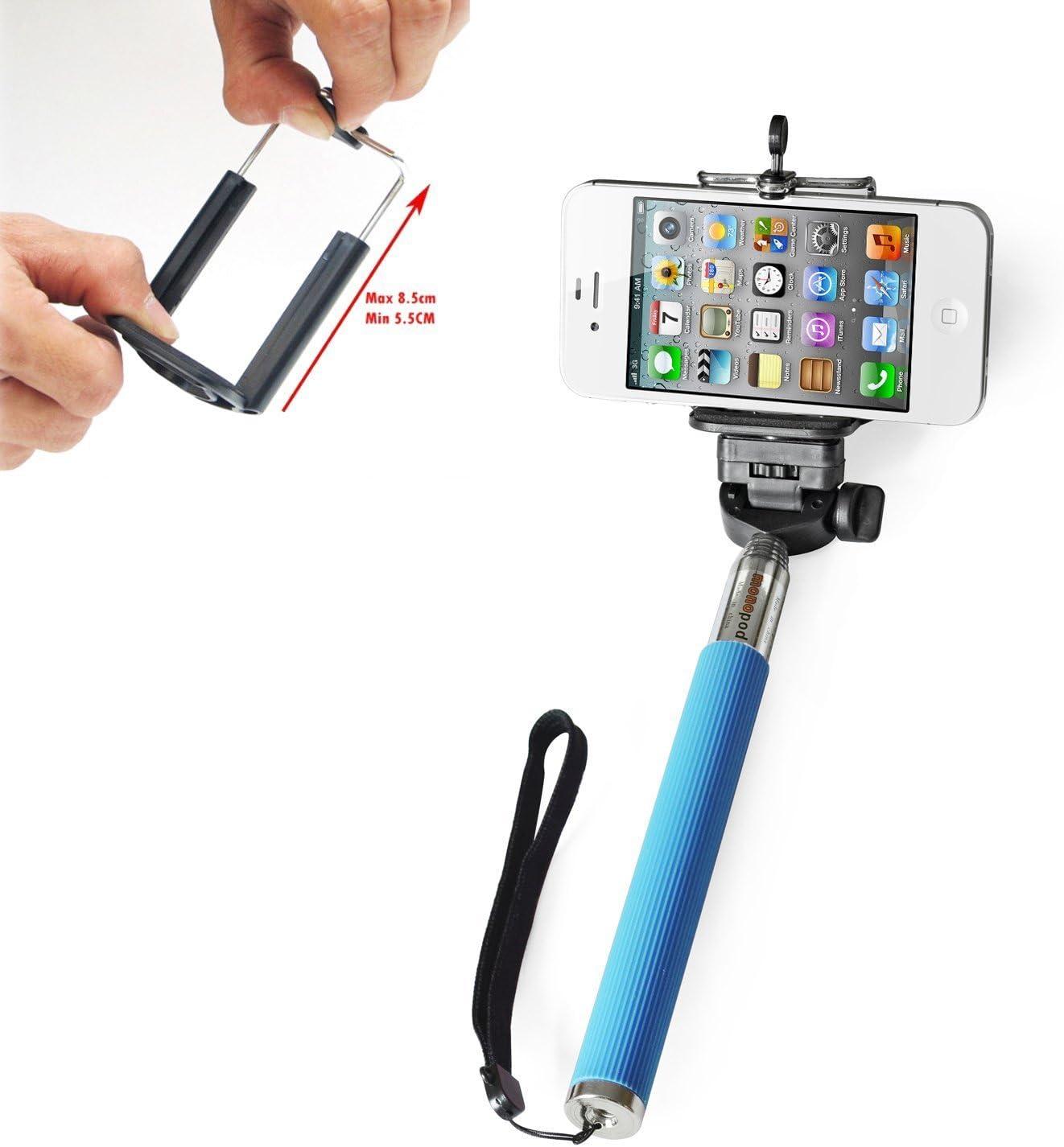 Ckeyin®; Selfie Stick / Palo para selfies extensible con soporte ...