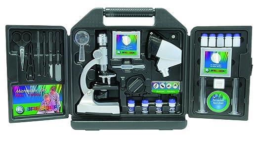 Bresser junior mikroskop set im koffer 50x bis 1200x vergrößerung