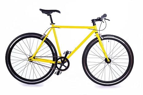 Box39 Bici Single Speedfixed Scatto Fisso Gialla La Pura