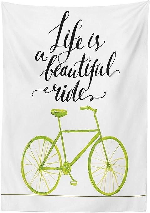 vipsung Mantel de decoración para Bicicleta, diseño de Cita con ...