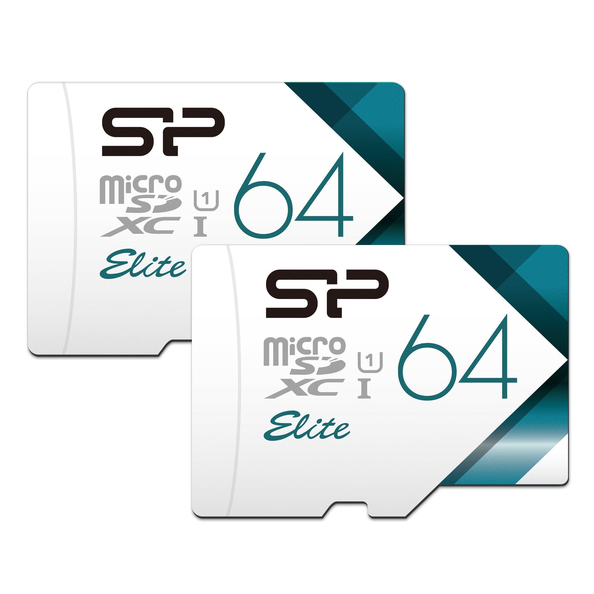 Silicon Power High Speed-64GB x 2 MicroSD Card