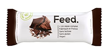 Pack de 12 Barritas Chocolate - Comida Completa - 100% Vegana - Sin