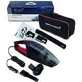 Car Hand Vacuum Cleaner, Wet / Dry Vacuum Cleaner, 12V, 120W, Black / Red Design