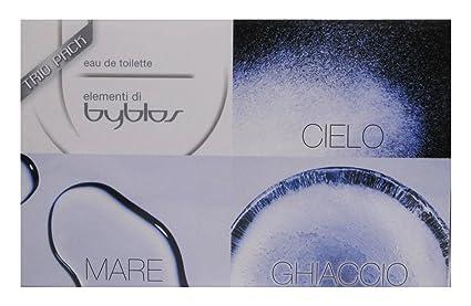 Byblos Mare Eau De Toilette Giallo Cielo - Set da 3  Amazon.it  Bellezza 9e80893a772