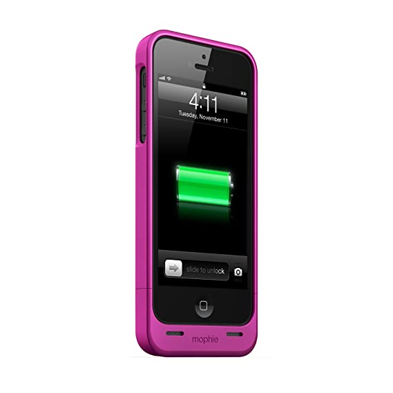 quality design f735c 0ffaf mophie juice pack Helium for iPhone 5/5s/5se (1,500mAh) - Pink